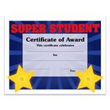 Super Student Award Certificates Pack