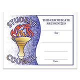 Torch Student Council Certificates Pack