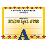 A Honor Roll Certificates Pack
