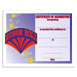 Honor Roll/Superhero Certificates Pack