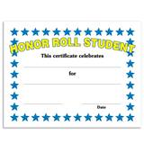 Honor Roll Student Certificates Pack