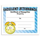 Excellent Attendance Certificates Pack