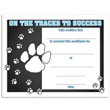 On the Tracks to Success Certificates Pack