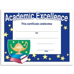 Lamp of Learning Academic Excellence Certificates Pack