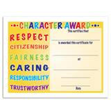 Character Award Certificates Pack