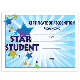 Star Student/Starburst Certificates Pack