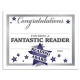 Fantastic Reader Certificates Pack