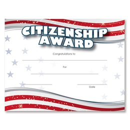 Stripes Citizenship Award Certificates Pack