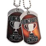 Principal's Award Dog Tag - Mood Dog Tag