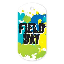 Field Day Plastic-Coated Dog Tag