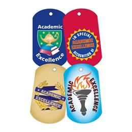 Dog Tag Set - Academic Excellence