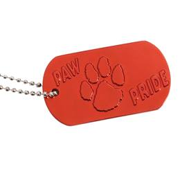 Dog Tag - Paw Pride Red