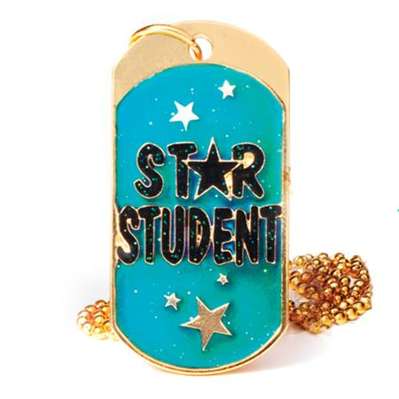 Mood Dog Tag, Star Student