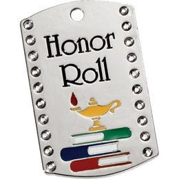 Bling Dog Tag - Honor Roll