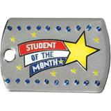 Bling Dog Tag - Student of the Month