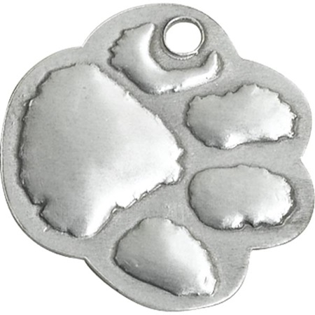 Shaped Dog Tag - Paw
