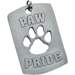Cut Out Dog Tag - Paw Pride