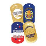 Dog Tag Set - Student Council/Leadership