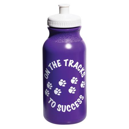 Award Water Bottle - On the Tracks to Success