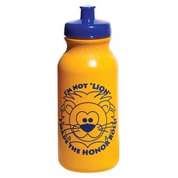 Award Water Bottle - Honor Roll Lion