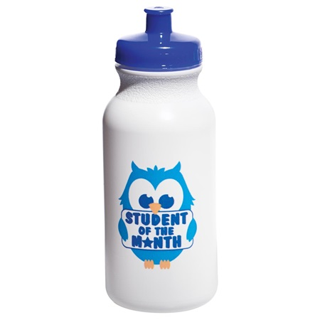 Full-color Water Bottle - Student of the Month Owl