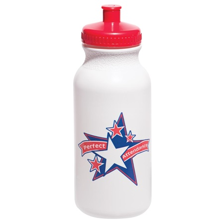Full-color Water Bottle - Perfect Attendance