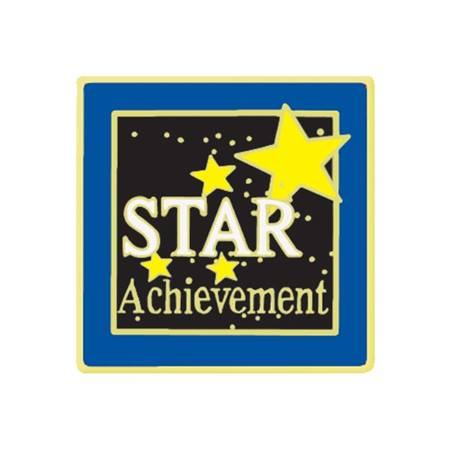 Achievement Award Pin - Stars