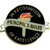 Principal's Award Pin - In Recognition of Excellence