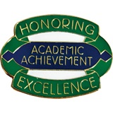 Academic Award Pin - Honoring Excellence