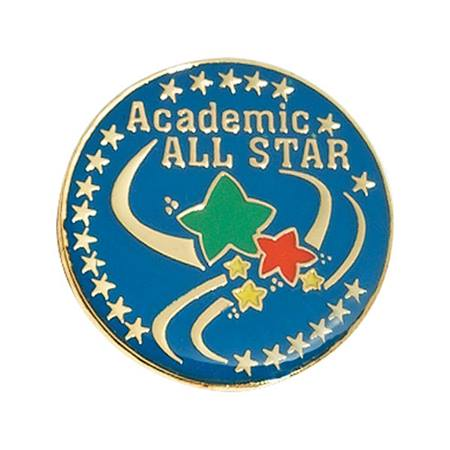 Academic All Star Award Pin