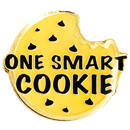 Award Pin - One Smart Cookie