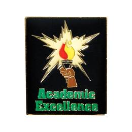Academic Excellence Award Pin - Torch Blast