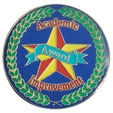 Academic Achievement Award Pin - Improvement