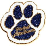 Attendance Award Pin - Glitter Perfect Attendance Paw