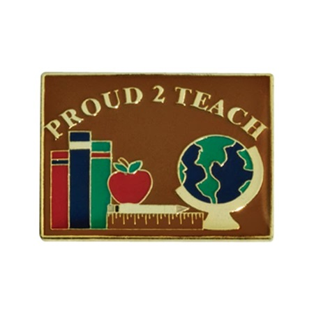 Teacher Award Pin - Proud 2 Teach
