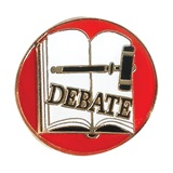 Debate Award Pin