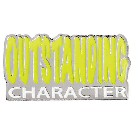 Character Award Pin - Outstanding Character