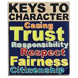 Character Award Pin - Keys to Character
