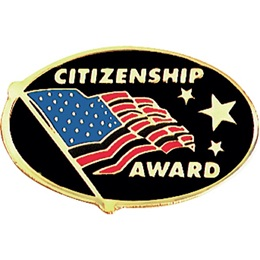 Citizenship Award Pin - American Flag