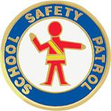 Safety Patrol Award Pin - Crossing Guard