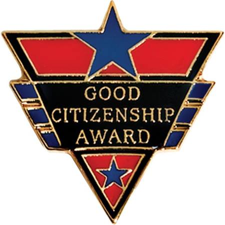 Citizenship Award Pin - Good Citizen