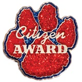 Citizenship Award Pin - Glitter Paw