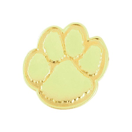 Gold Paw Award Pin