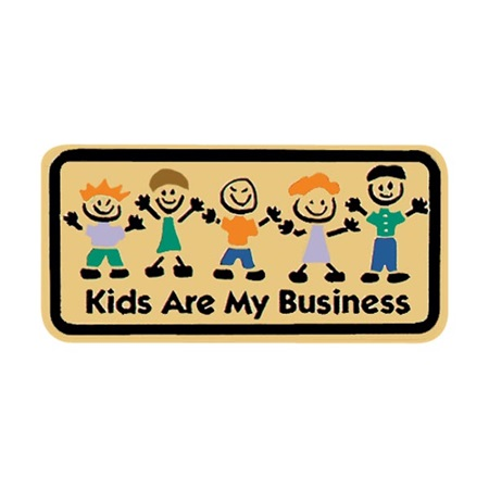 Appreciation Award Pin - Kids Are My Business