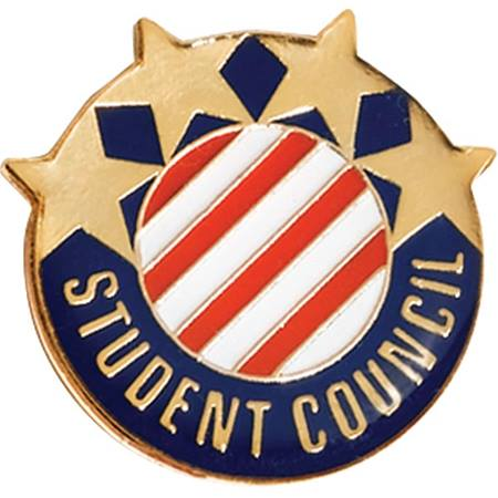 Student Council Award Pin - Stars and Stripes