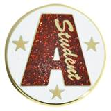 Honor Roll Award Pin - Glitter A