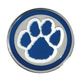 Paw Award Pin - Blue/Silver