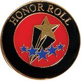 Honor Roll Award Pin - Shooting Star