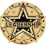 Leadership Award Pin - Rhinestones