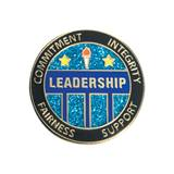 Leadership Award Pin - Glitter